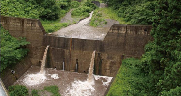 砂防ダムなど公共物、工作物の資産管理に